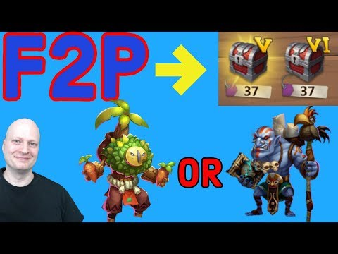 Plant Warrior Or Walla Walla | Best F2p Rewards | Castle Clash