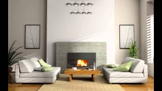 Small Modern Living Room Budget Color Schemes Ideas Corner Fireplace Rustic Orange