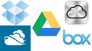 Backing up Your Data: Google Drive, Dropbox, iCloud, Skydrive