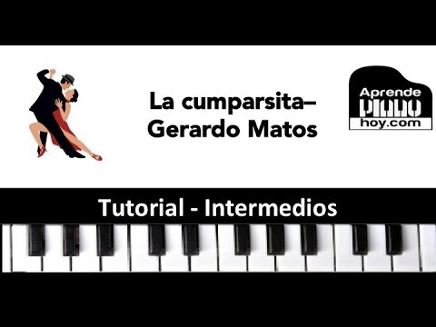 Tutorial Piano  La Cumparsita