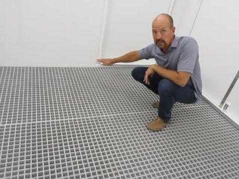 Containment Floor Plus Diamond Floor