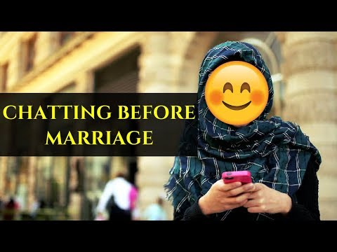 Chatting Before Marriage In Islam | Yasmin Mogahed