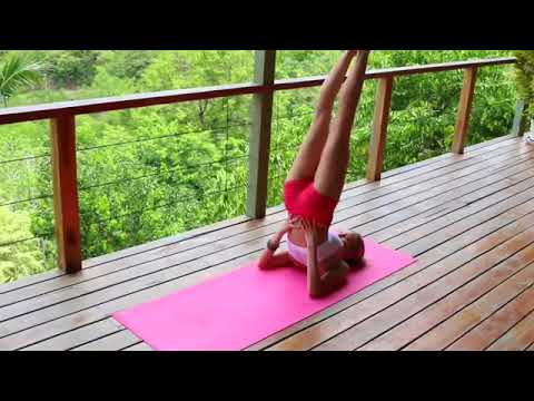 morning-yoga-for-weight-loss---5-minute-workout-fat-burning-yoga-best-daily-yoga-for-beginners2018