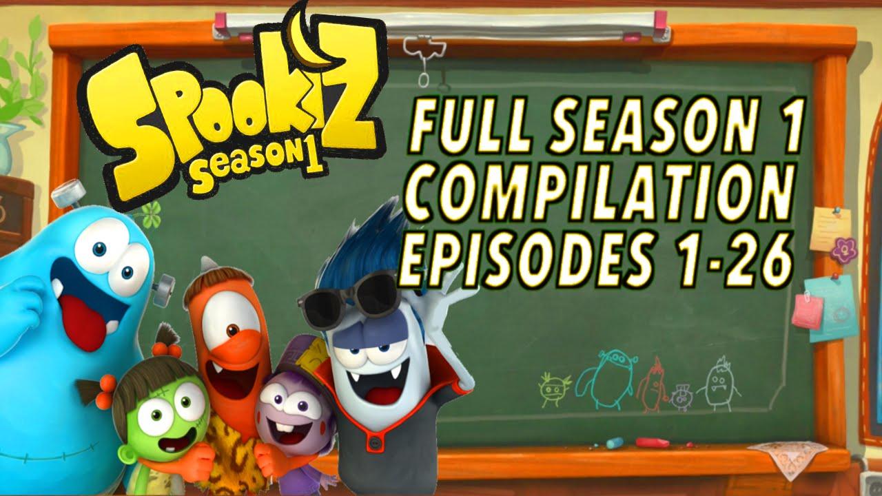 Download 🌟  Spookiz  🌟 | ★ FULL EPISODE 1-26 SEASON 1 COMPILATION | (Season 1) ★ Videos For Kids 스푸키즈