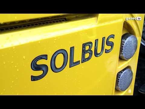 Autobusy LNG W Warszawie