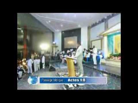 Pasteur Moise Mbiye - Exhortation, Prière, Adoration et Louange à la Cite Bethel. (SILOE)