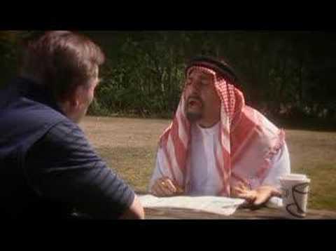 Omid Djalili  Lucky Arab Sketch Two