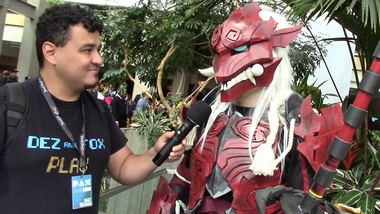 Monster Hunter Kirin Odogaron Armour Cosplay Featurette By
