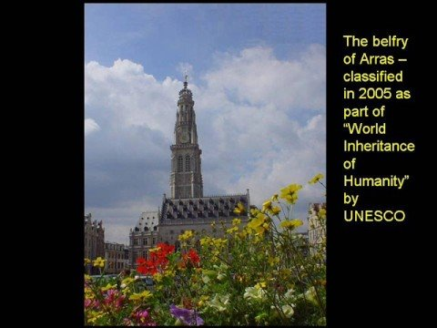 The city of Arras in the Pas-de-Calais department, France