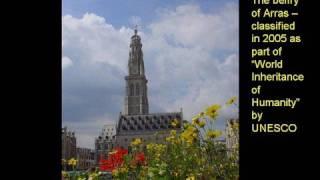 The city of Arras in the Pas-de-Calais department, France