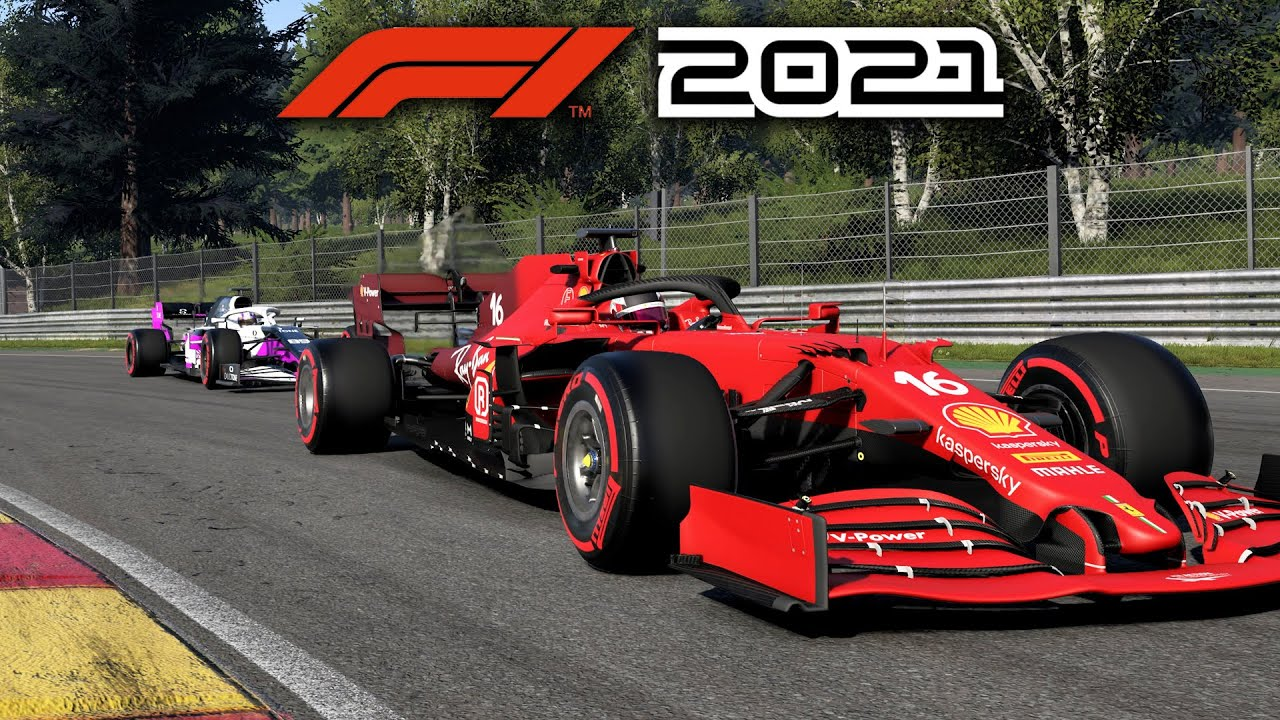 F1 2021 MY TEAM CAREER MODE Part 10 - FIGHTING WITH THE FERRARI