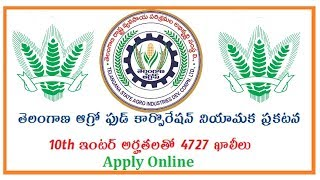 TELANGANA AGRO DEVELOPMENT CORPORATION IN TELUGU