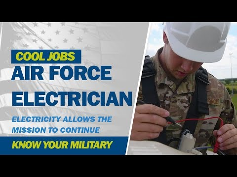 Cool Jobs: Air Force Electrician