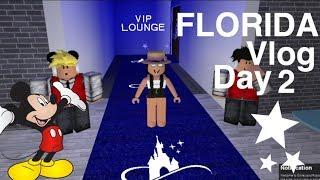 ROBLOX VLOGS: Disney World!! Florlda Trip Day 2!