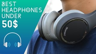 Video Best Budget Headphones under $50! download MP3, 3GP, MP4, WEBM, AVI, FLV Mei 2018