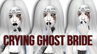 The Sims 4: Create A Sim || Crying Ghost Bride