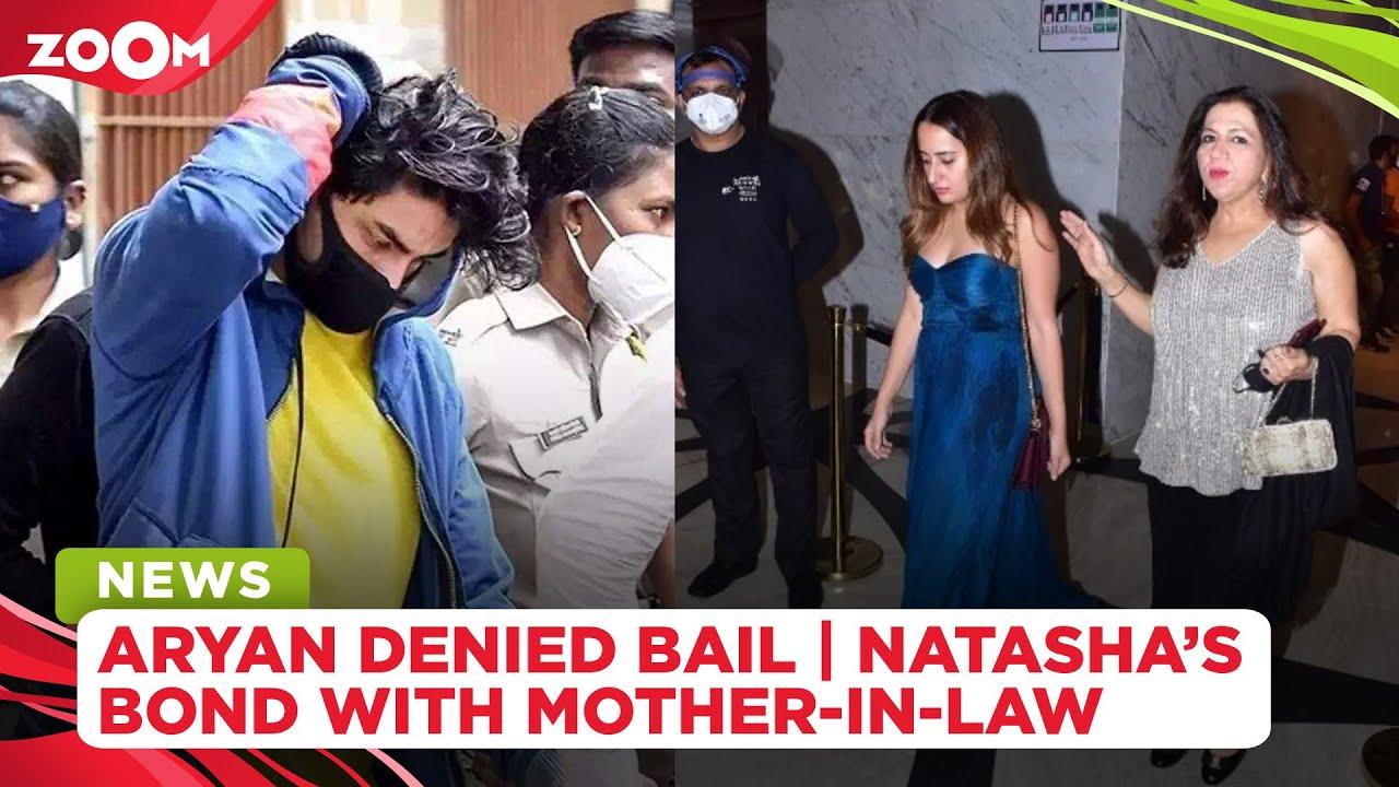 Aryan Khan denied bail by Mumbai court | Netizens react to Natasha Dalal's bond with Varun's mother