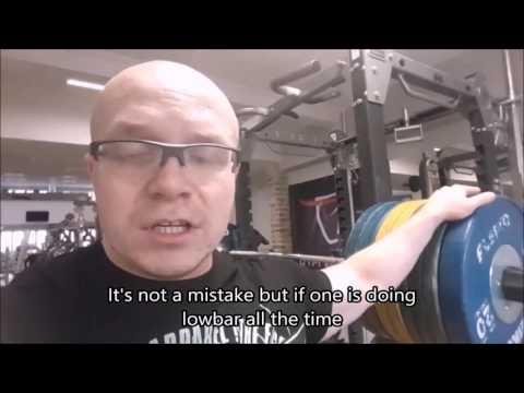 [SUB ENG] Vlog - Lower Body/Przysiady raw oraz z taśmą i inne
