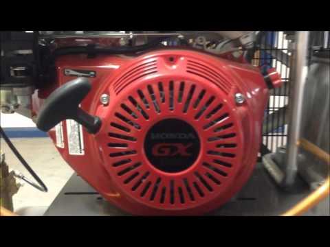 Product Walkaround: Honda GX390 200L 37.8CFM Petrol Air Compressor GX390COMP