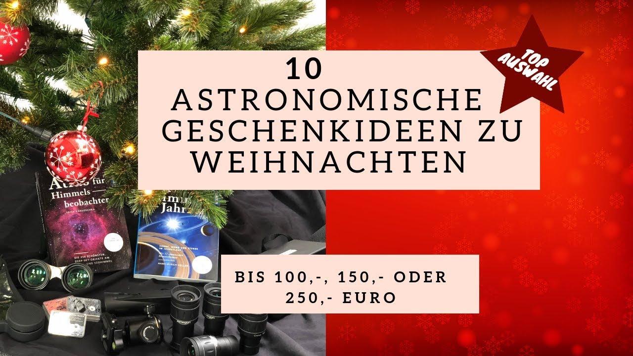 10 astronomische Geschenkideen zu Weihnachten - YouTube