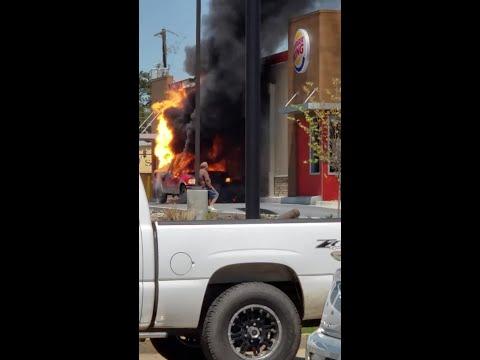 Kevin & Liz - Explosion at the Burger King Drive Thru