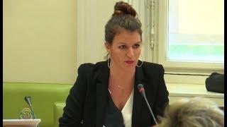 Pour Marlène Schiappa, il y a plus d'agressions sexuelles dans le Nord que le Sud (SENAT,20/07/17)