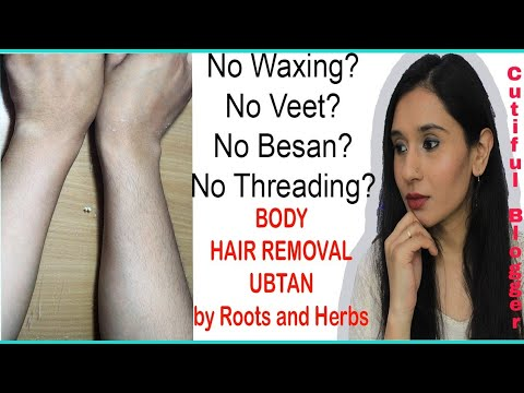 In 5 Minutes Remove Unwanted Body Hair Roots And Herbs Neem And