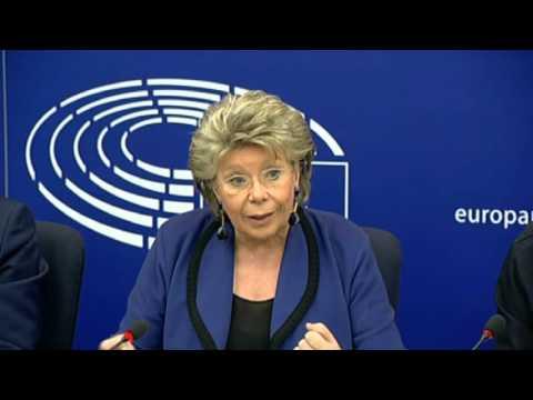 #TiSA: Viviane Reding MEP - negotiations for the Trade in Services Agreement (TISA)