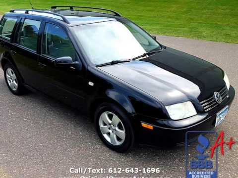 2004 Volkswagen Jetta Wagon Gls Tdi 5 Sd Manual 50 Mpg Low Miles 1 Owner Eden Prairie