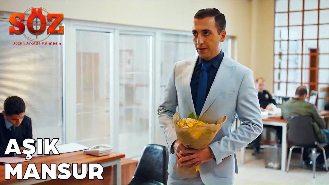 Aşıktan Ceren Komiser'e Çiçek! | Söz 43. Bölüm