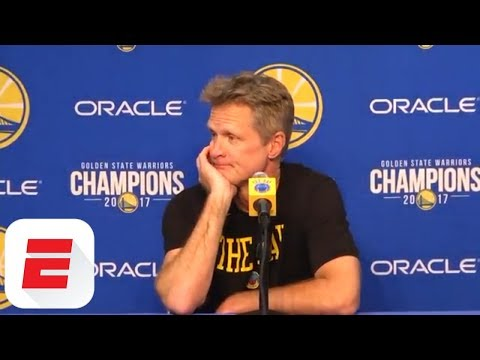 Steve Kerr on Arizona's NCAA scandal: 'I'm disappointed in my alma mater' | ESPN