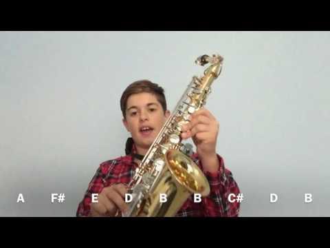 Epic Sax Guy Alto Sax Tutorial