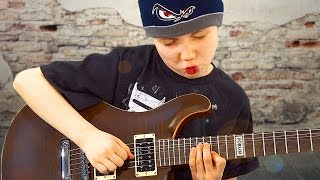 Dustin Tomsen - Das Gitarren-Wunderkind spielt live im Music Store
