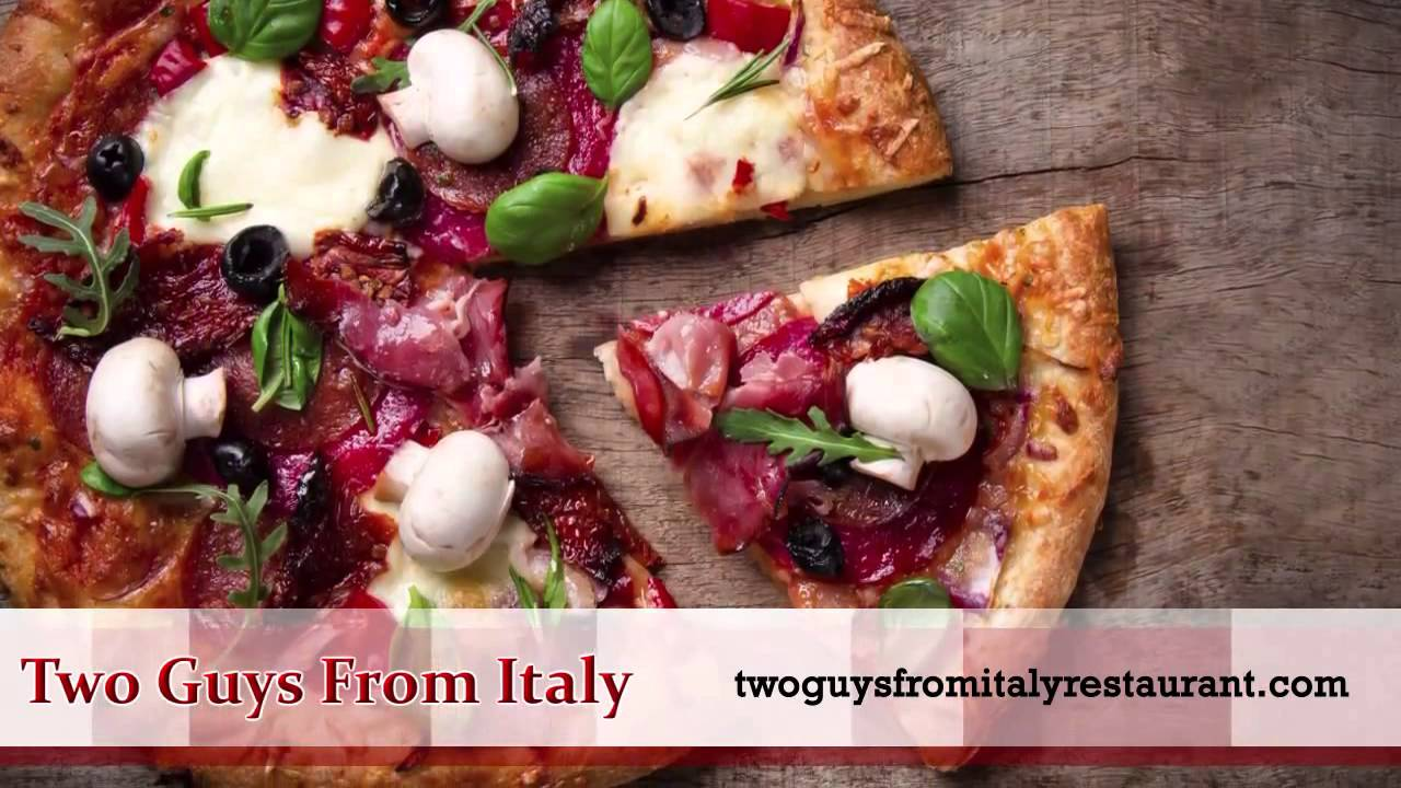 Restaurant Advertising Voiceover -  Two Guys From Italy Restaurants Dallas, TX