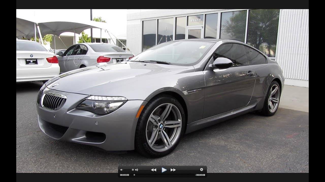 2010 BMW M6 >> 2010 Bmw M6 Coupe Smg Start Up Exhaust And In Depth Tour