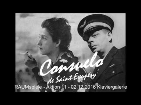RAUMspiele - Aktion 11 - Consuelo de Saint-Exupéry