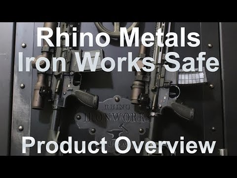 """Rhino Metals Iron Works Safe Product Overview (AKA: The """"Fat Unicorn"""")"""