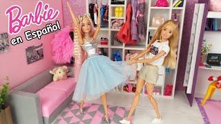 Dormitorio de Barbie y su Amiga Rutina de la Mañana @Barbie