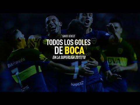 Todos los goles de Boca Campeón de la SuperLiga 2017/2018