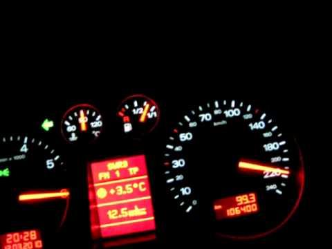 Audi A2 1.6 16V - Vmax Test