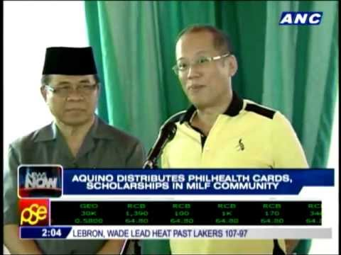 """Pres. Benigno Aquino III makes history by visiting MILF lair in """"peace time"""""""