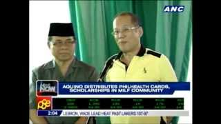 "Pres. Benigno Aquino III makes history by visiting MILF lair in ""peace time"""