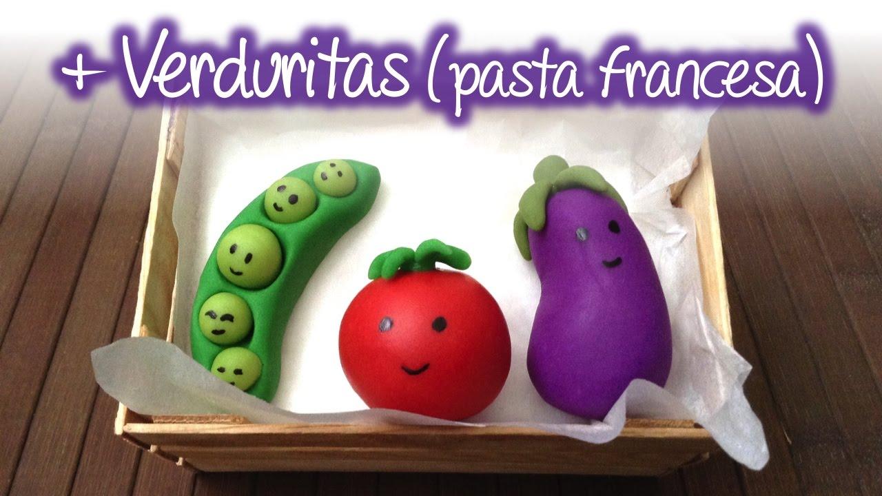 Verduras de pasta francesa parte 2 cold porcelain for Verduras francesas