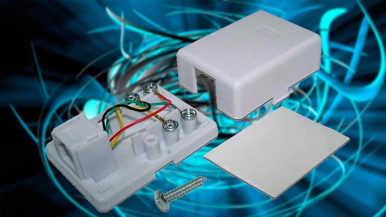 9 фев 2017. Установка интернет ethernet и телефонной розетки. В телефонной розетке используются 2 провода в джеке rj11 они находятся.