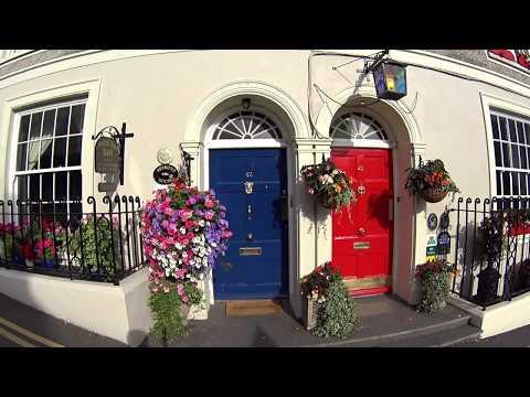 KINSALE  PRETTY TOWN ON IRELAND'S SOUTH COAST  ИРЛАНДИЯ
