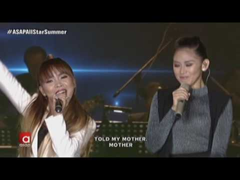 Sarah Geronimo, 4th Impact sing 'Ain't No Other Man' - ASAP