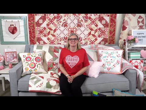 Behind The Seams: Kimberly Shows You The Newest Bloom-Topia Bonus Finishing Pattern And More!