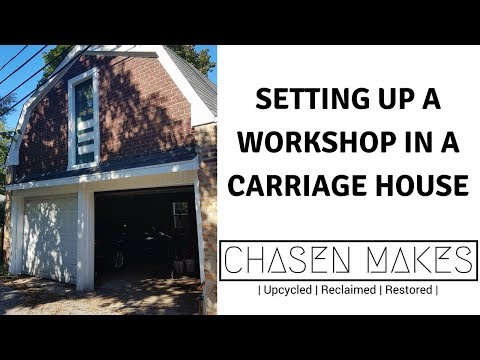 Carriage House Workshop- Getting Settled In