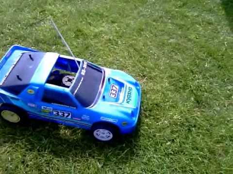 Kyosho Rs 200 R C Nitro Rally Car Youtube