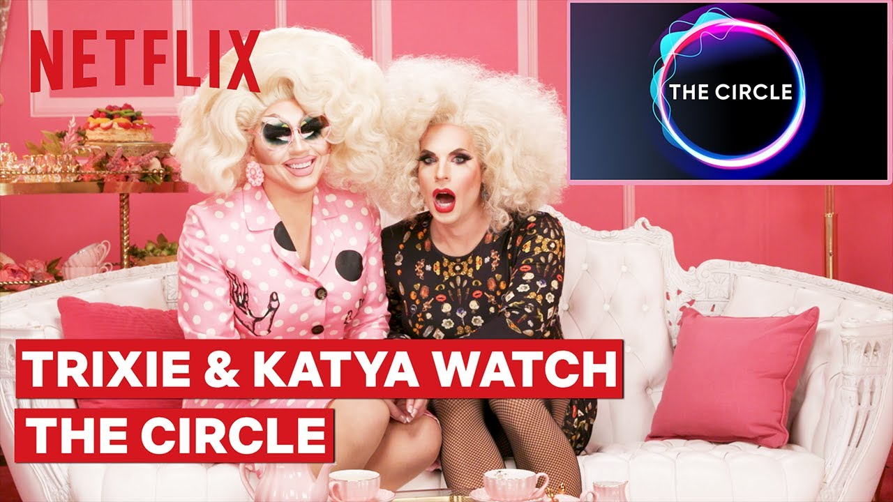 Download Drag Queens Trixie Mattel and Katya React to The Circle | I Like to Watch | Netflix